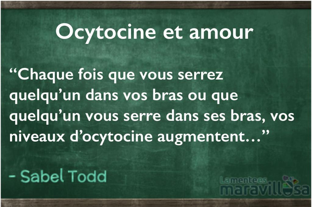 L'ocytocine : l'hormone sociale