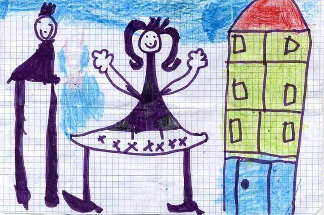Comment interpreter le dessin de famille de votre enfant?