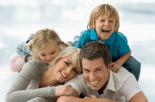 Les ingrédients pour une famille heureuse