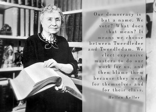 Helen Keller, l'enfant devenue une légende