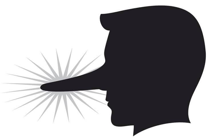 Les 10 mensonges les plus typiques des hommes