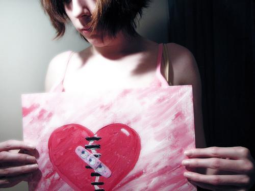 Le cœur brisé et la douleur physique