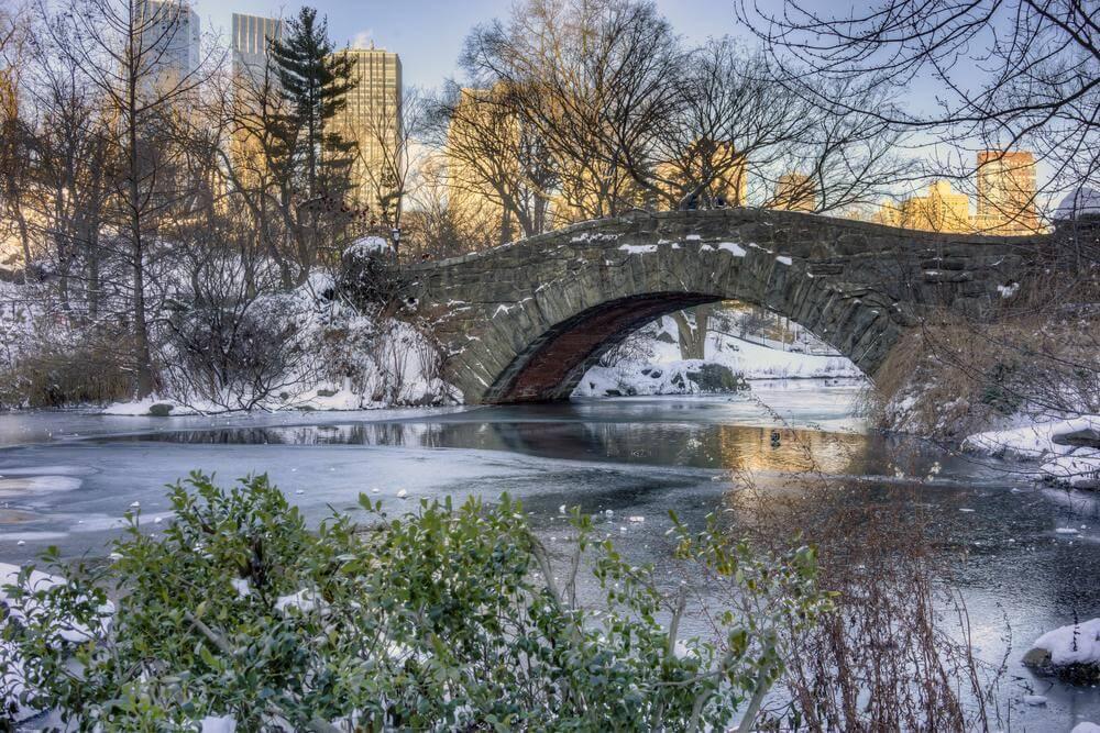 Quand nous arrivons à cette rivière, nous traverserons ce pont