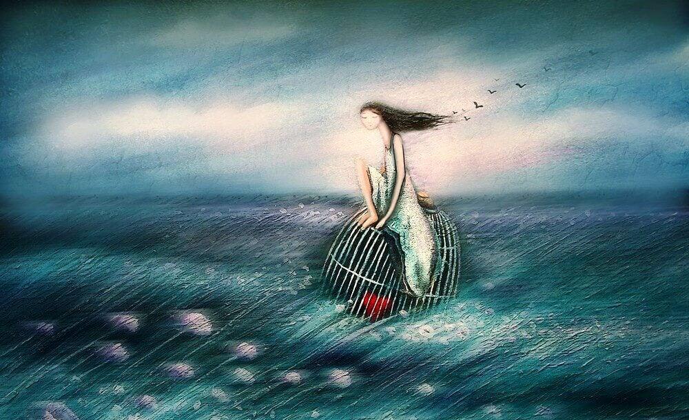 La vie est un difficile équilibre entre retenir et laisser aller