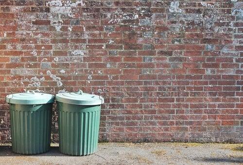 La métaphore de la poubelle