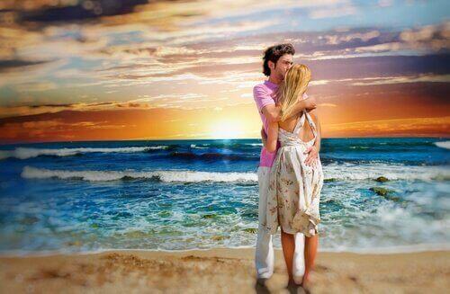 Prendre quelqu'un dans ses bras c'est respirer l'essence-même de l'autre