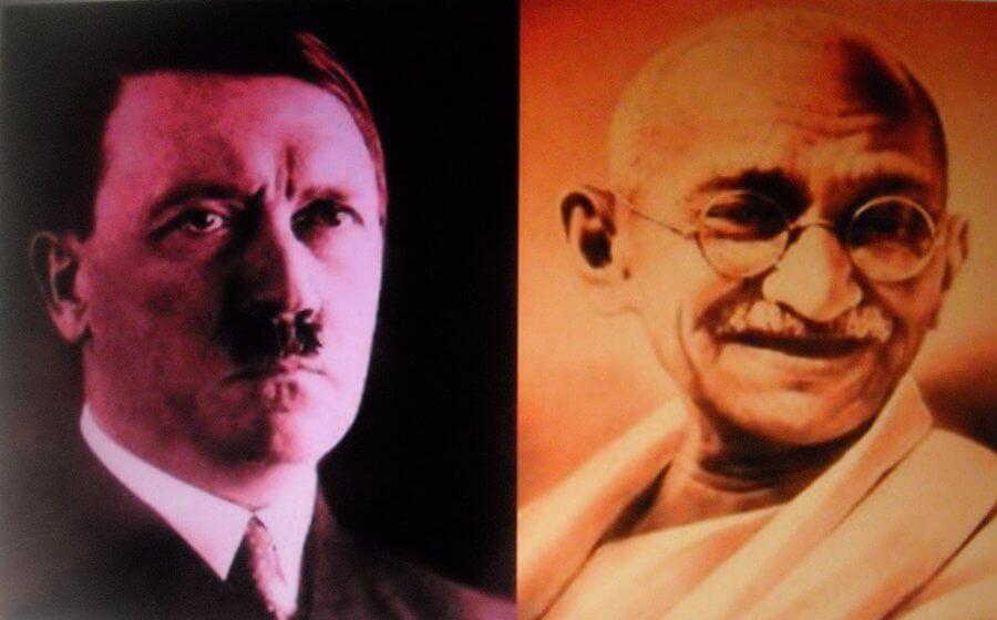 La lettre de Gandhi à Hitler