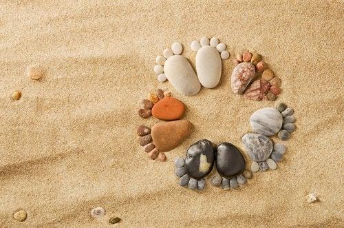 Trébucher sur la même pierre, les mêmes habitudes et les mêmes coutumes