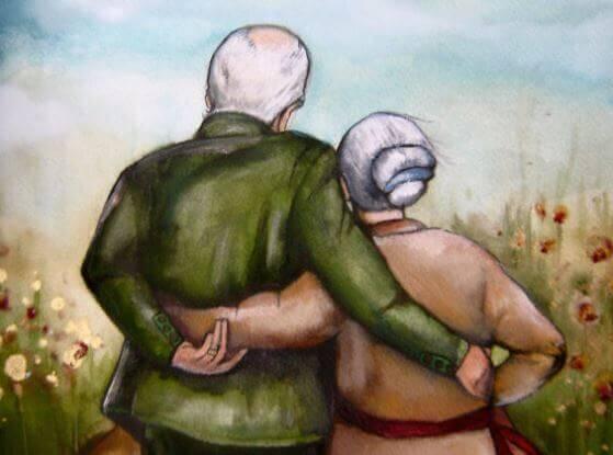 Le coeur ne vieillit pas, seule la peau se ride
