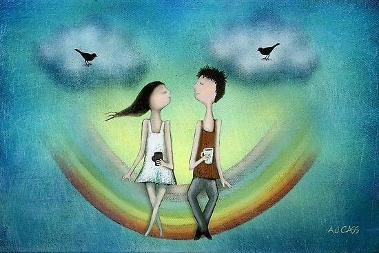 L'amour véritable c'est aimer sans conditions