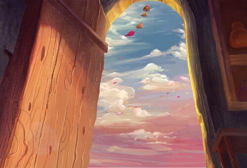 Une porte entrouverte, c'est la moitié du bonheur