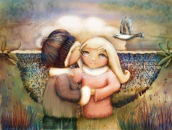 Le véritable ami est celui qui arrive quand tous les autres s'en vont