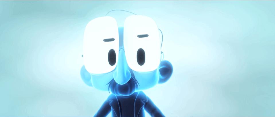 Homme-bleu