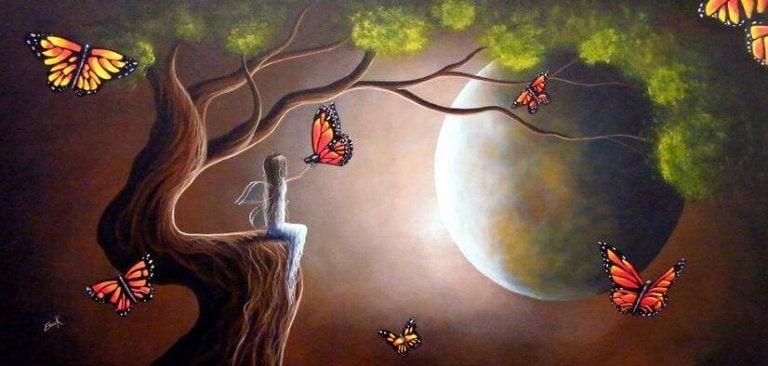 Donne-moi des ailes pour voler et des raisons de rester