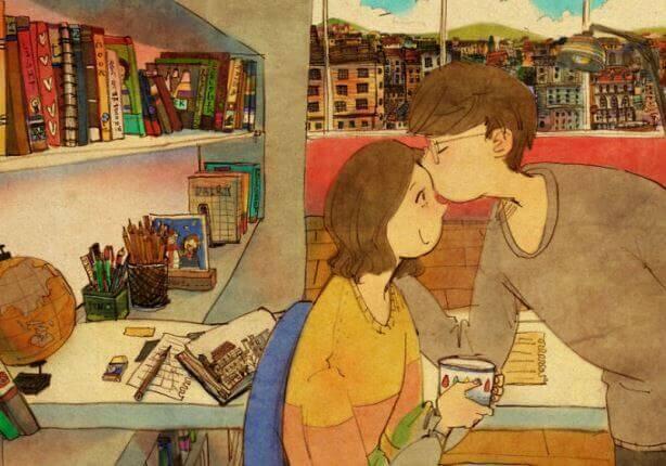 L'amour n'a pas besoin d'être parfait, il a juste besoin d'être vrai