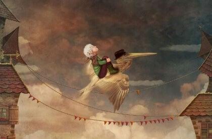 enfant volant