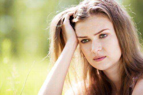 femme stressee