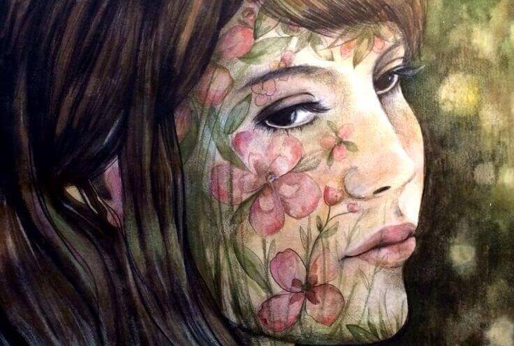 mujer-rostro-flores