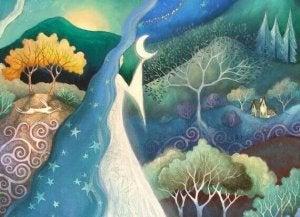 paysage-nocturne-lune