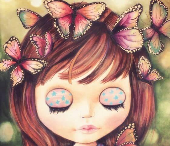 petit-fille-papillons