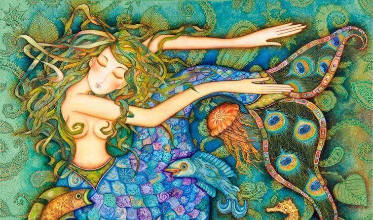 sirene-cheveux-de-couleurs