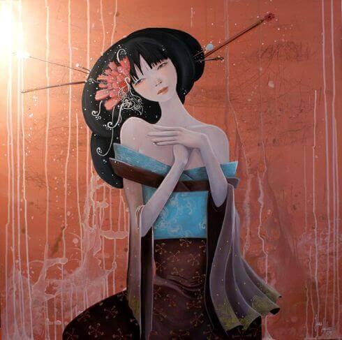 Mujer-japonesa-triste