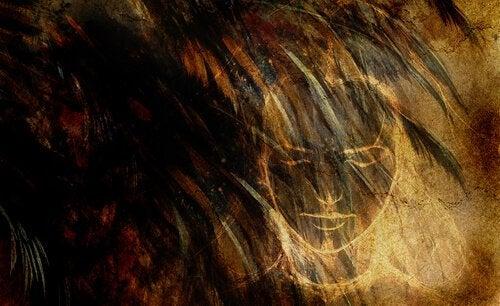 Visage-femme-yeux-fermes-peur