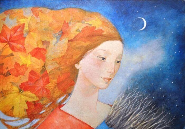 ilustración-mujer-en-la-noche