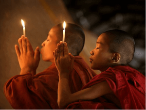 niños-budistas