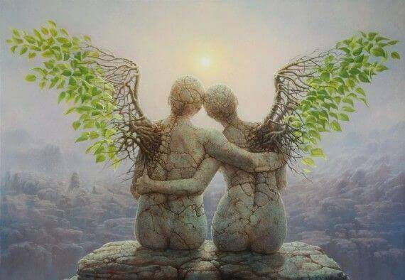 Agir avec son coeur, c'est aider les autres à se lever