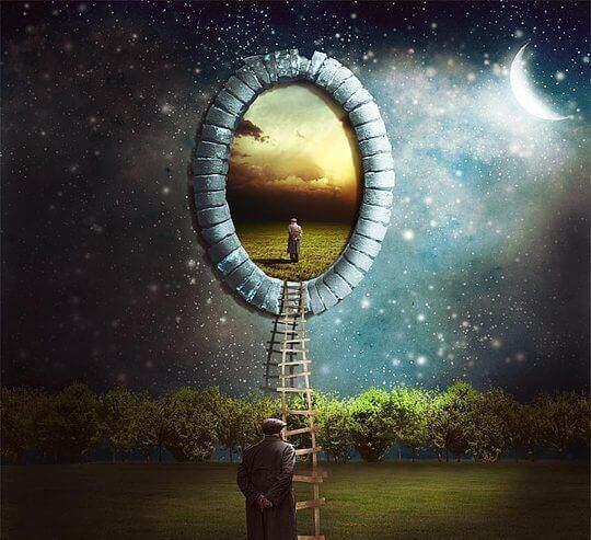 Homme-regardant-dans-le-trou-des-croyances-etranges