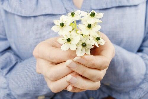 Mains-offrant-des-fleurs-pour-pardonner