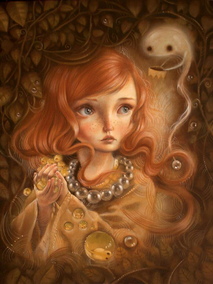 Mujer-triste-recogiendo-burbujas