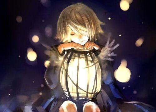 Petite-fille-lanterne