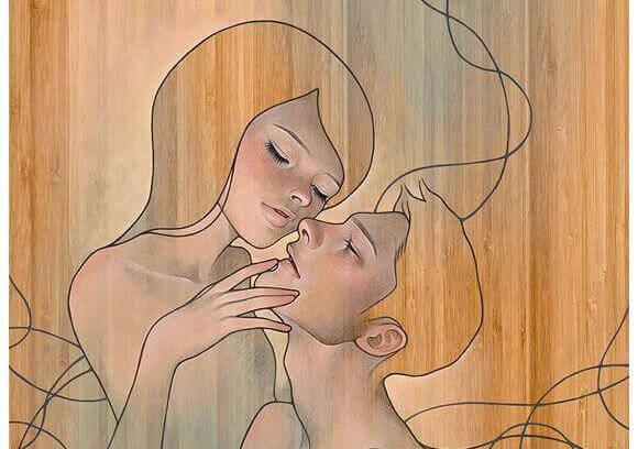 Silhouettes-masculine-et-feminine