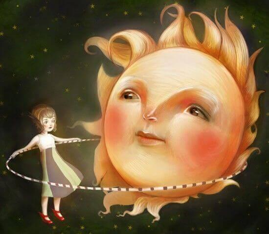 enfant soleil