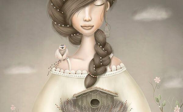 mujer-con-un-pájaro-en-el-hombro1
