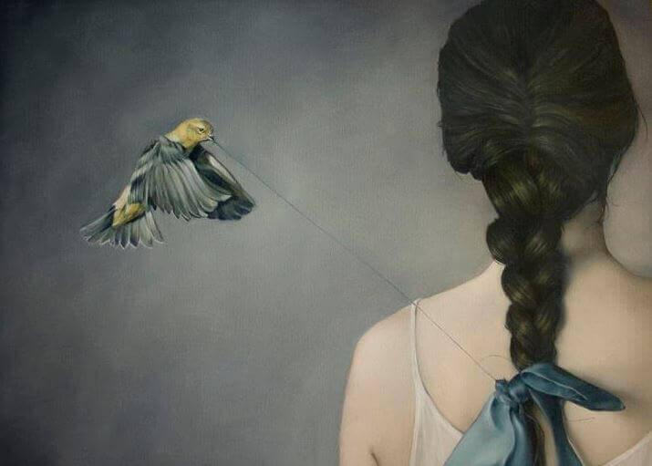 oiseau noeud