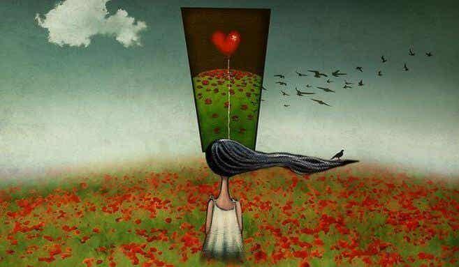 N'essayez pas de sortir de votre tête ce qui ne peut pas quitter votre coeur