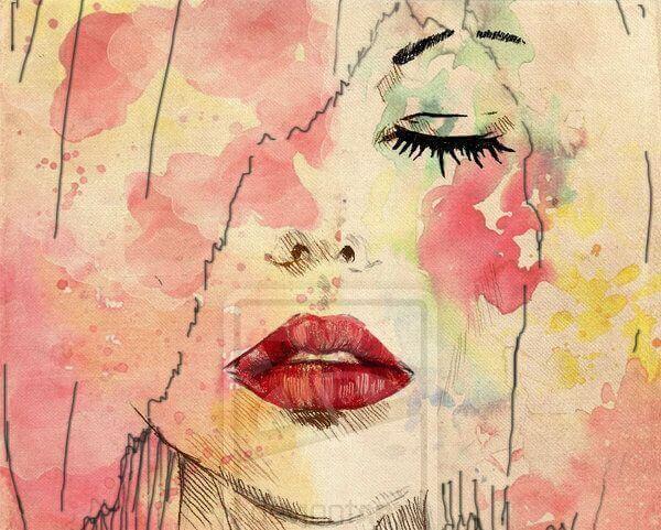 Femme-en-rose