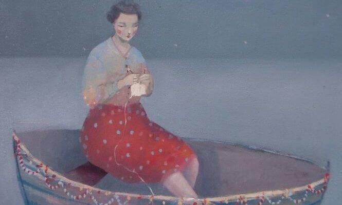 Femme-sur-un-bateau-representant-la-tristesse-de-l'agressivite