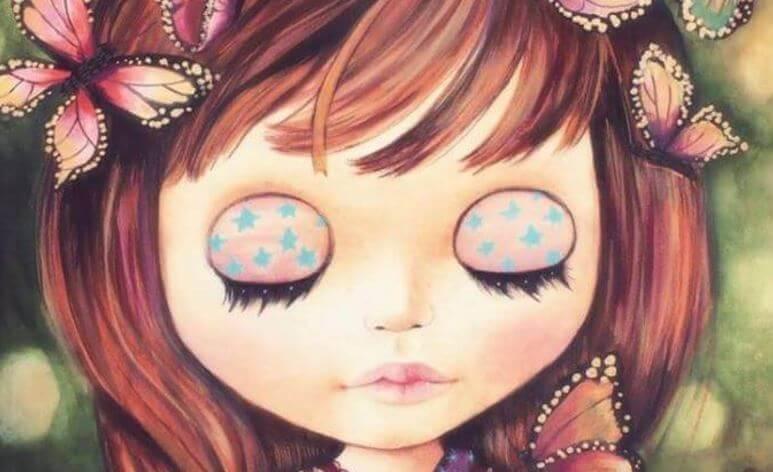 Fille-yeux-fermes