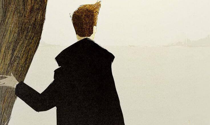Homme-veste-noire-pensant-faire-le-bien