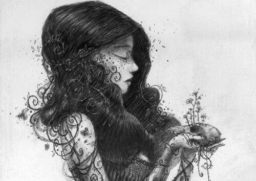 Illustration-femme-noir-et-blanc