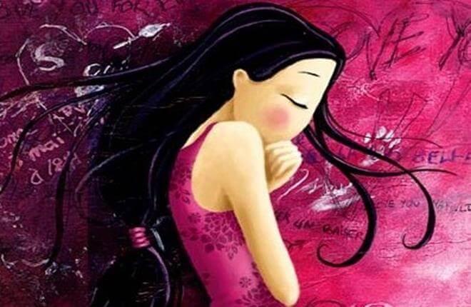Jeune-avec-robe-rose-timide-pensant-aux-comparaisons-Copy