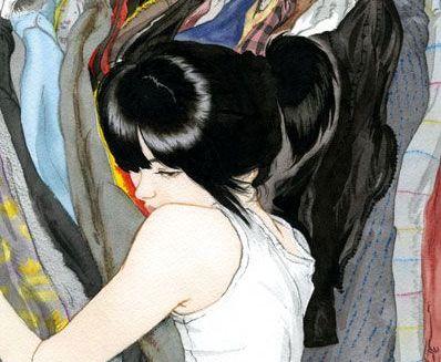 joven-abrazada-a-ropa-recordando-la-infidelidad