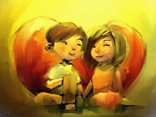 Si vous aimez quelqu'un, vous ne voulez que le voir heureux