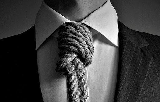 Cravate-corde
