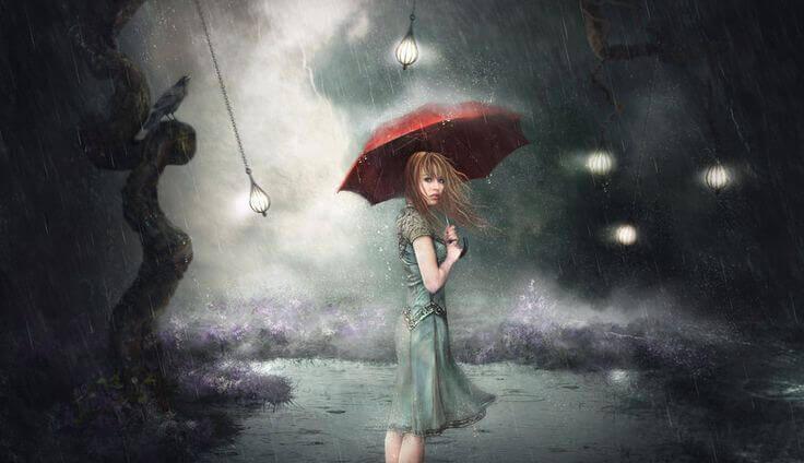 Femme-avec-parapluie