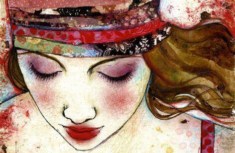 Femme-souriant-symbolisant-l'empathie